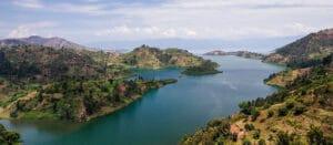 vocational tour at lake kivu